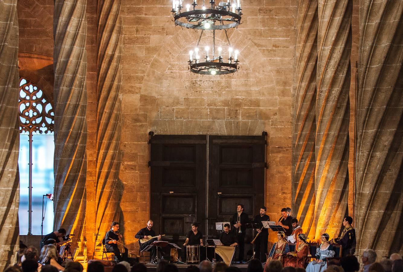 Capella de Ministrers, en la Lonja de Valencia. Por Francisco Hernández
