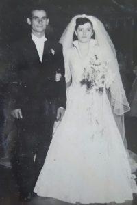 Mis abuelos Antonio y Consuelo, el día de su boda en Nueva York