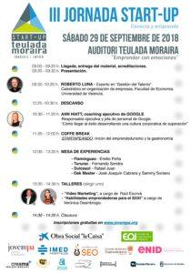 programa jornada talento y emociones start up teulada moraira conferencia roberto luna