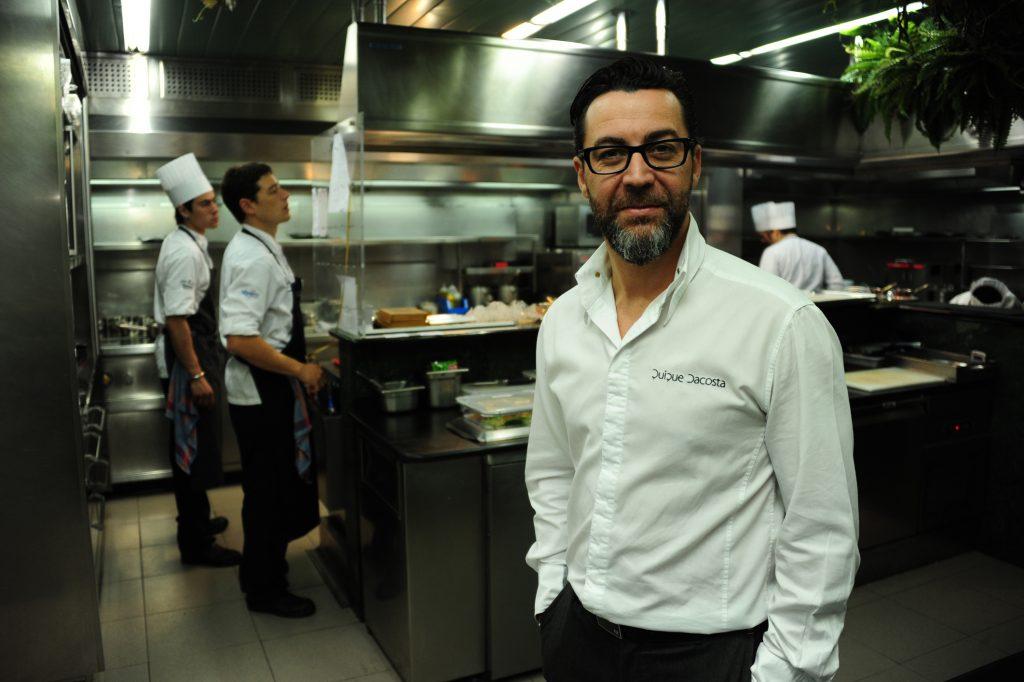 Quique Dacosta, cocinero tres estrellas Michelín.