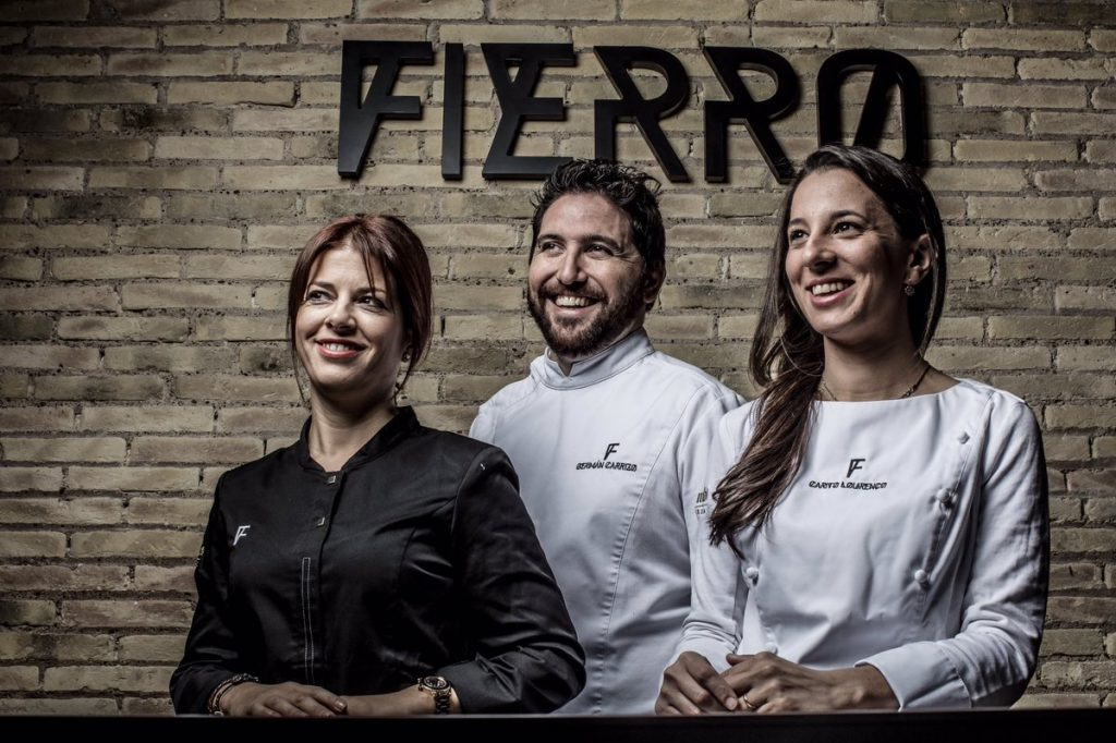 Foto cortesía Fierro. Eva, Germán y Carito.