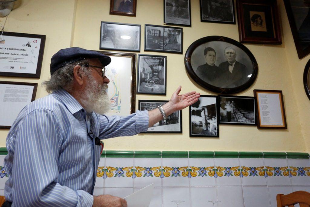 Comunidad Valenciana.Valencia.20/06/2017.Historias con Delantal.Casa El Famós.Fotografía de Jesus Signes.