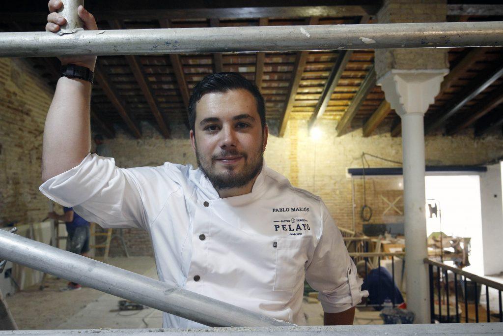 Comunitat Valenciana. Valencia. Valencia. 18-09-2017. Pablo Margos, cocinero del nuevo restaurante del Trinquet de Pelayo. Fotografia: Irene Marsilla