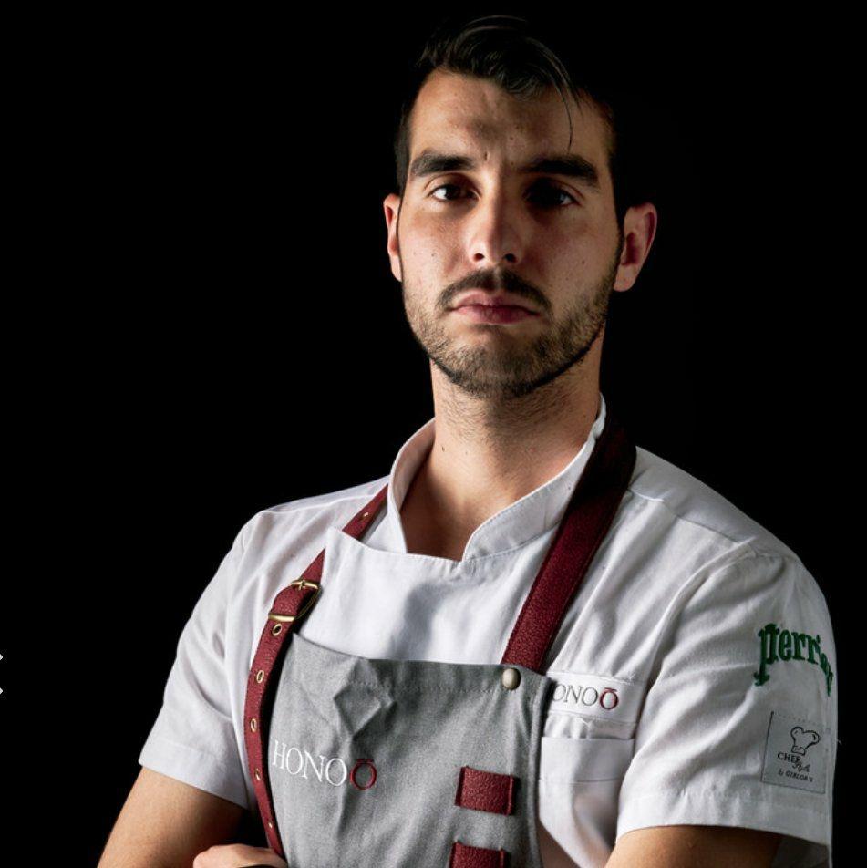 Eduardo Espejo,. Imagen cedida por el propio cocinero.