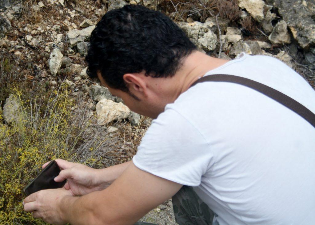 David Ariza, el buscador de plantas.