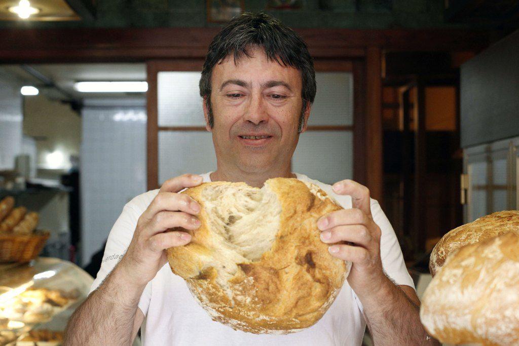 Comunitat valenciana. Valencia. Valencia. 20-05-14. Proveedores de restaurantes. En la imagen, Jesus, proveedor de pan. Fotografia: Irene Marsilla TFGP.