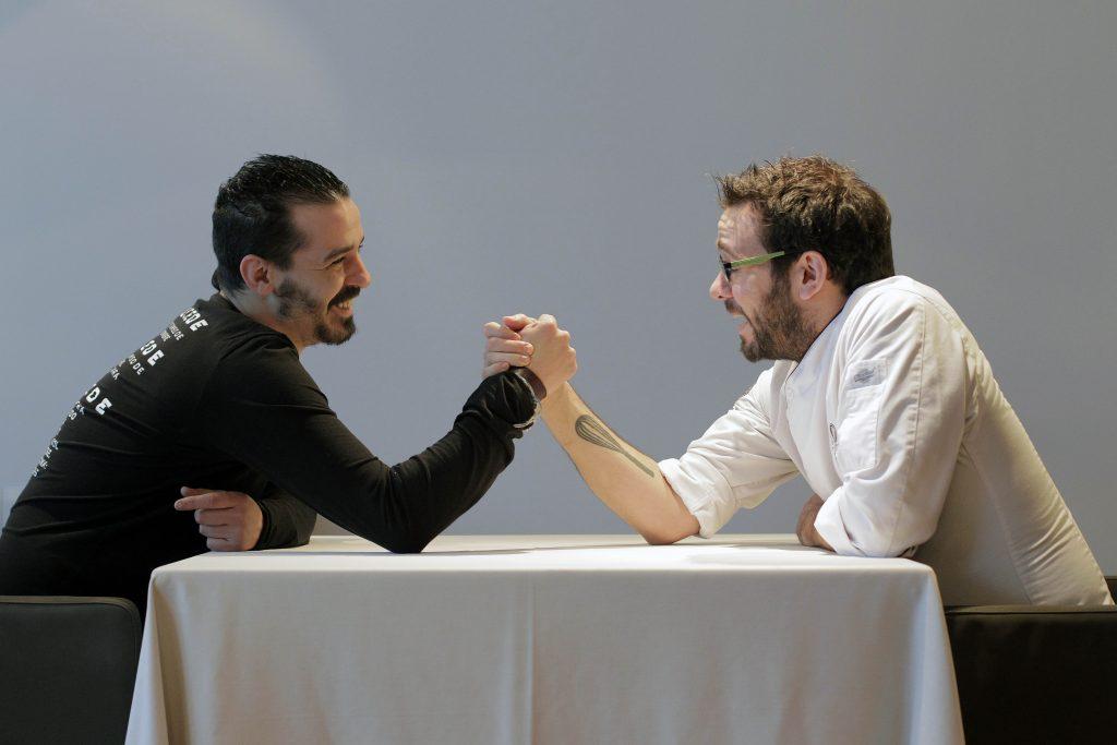 Comunitat Valenciana. Valencia. Valencia 3-03-2017. Miguel Angel Mayor y Jesus Escalera. Fotografía de Irene Marsilla.