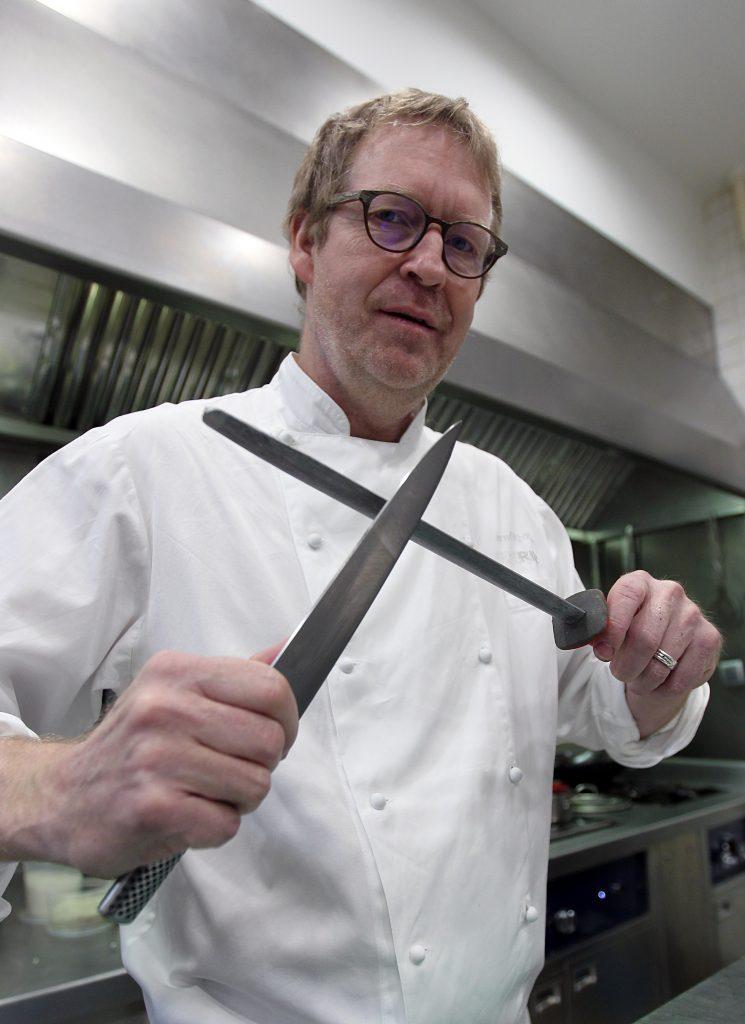 03-02-2018. Comunidad Valenciana, Valencia. Bernd H. Knoller, chef del restaurante Riff. Fotografía de Txema Rodríguez