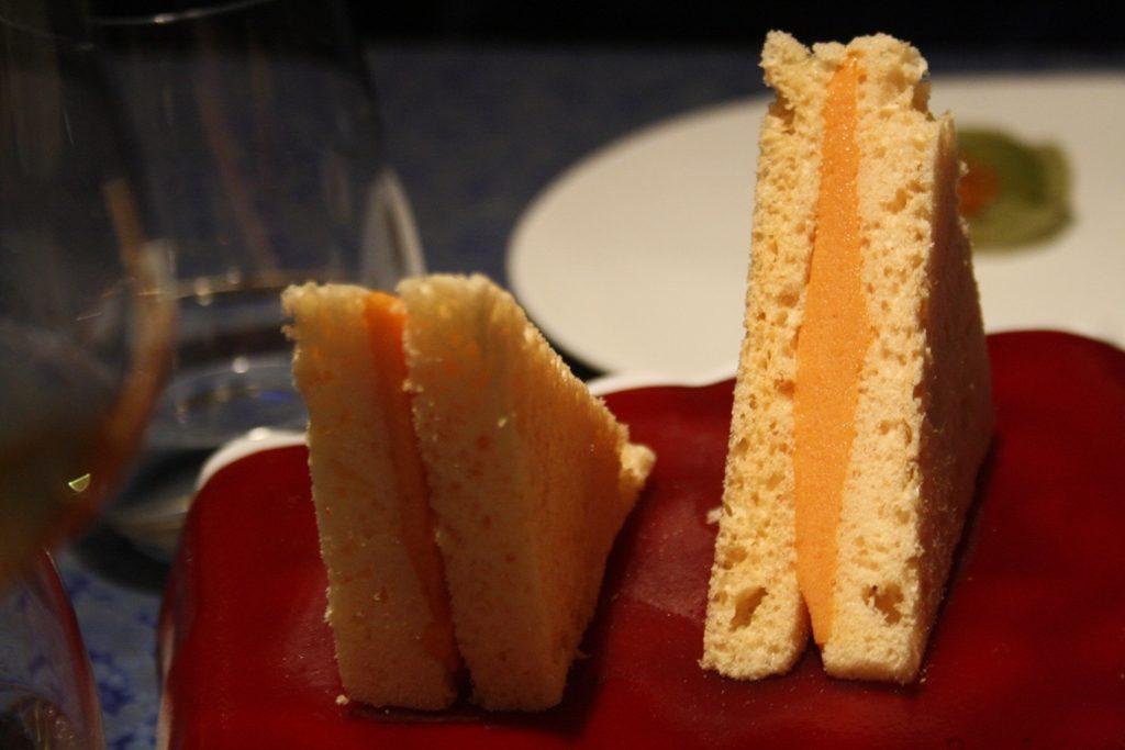 Sándwich de gazpacho (o no).