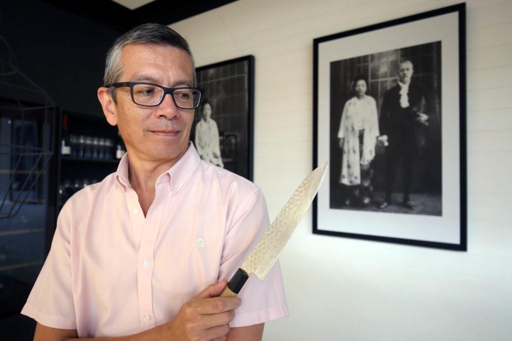 Comunidad Valenciana. Valencia. Valencia. 23-08-2018. Steve Anderson, del restaurante Ma Khin. Fotografía de Irene Marsilla.