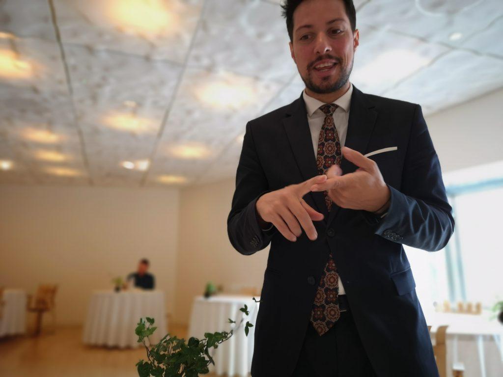 Ismael Áñvarez. Sumiller. Nerua