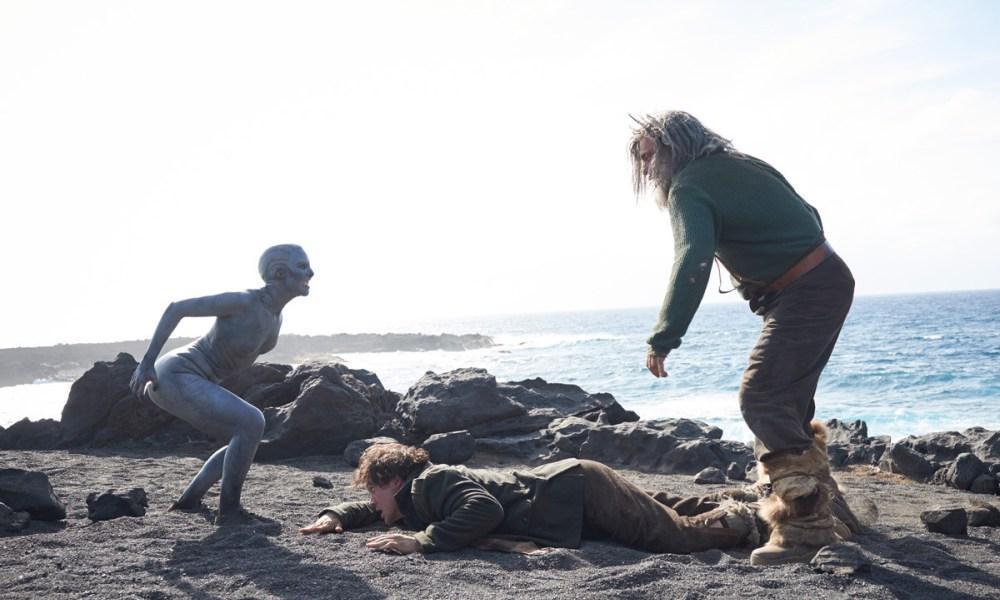 Una escena de la película 'La piel fría'.